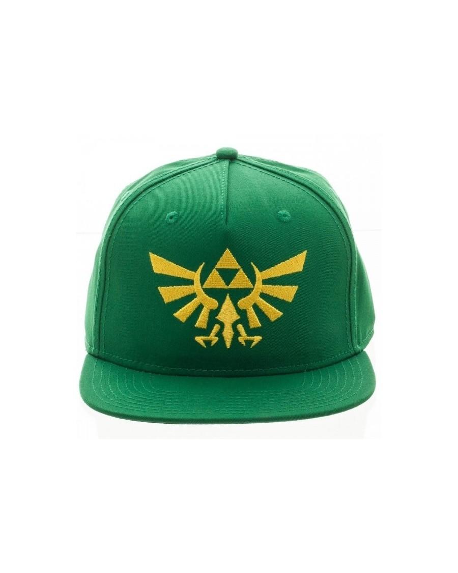 OFFICIAL NINTENDO'S THE LEGEND OF ZELDA TRIFORCE GREEN SNAPBACK CAP