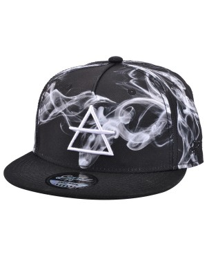 CARBON 212 AIR SMOKE PRINTED SNAPBACK CAP