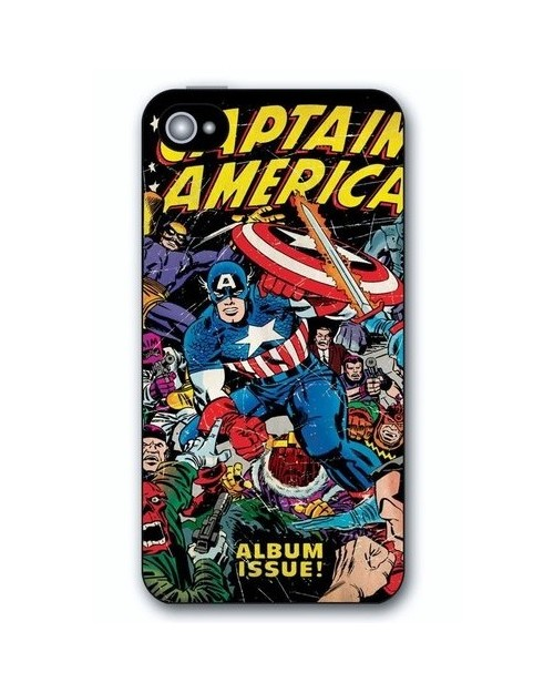 RETRO CAPTAIN AMERICA IPHONE 5 HARD CASE