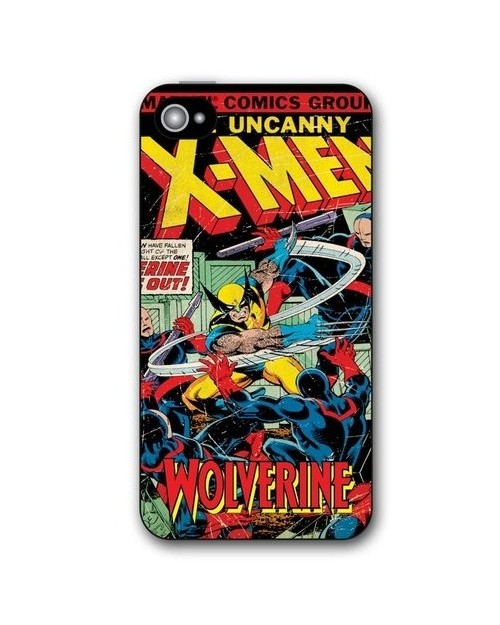 RETRO X-MEN THE WOLVERINE IPHONE 5 HARD CASE