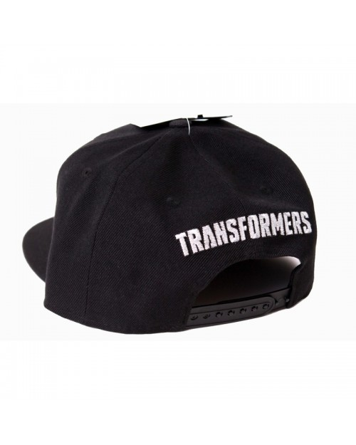 OFFICIAL TRANSFORMERS AUTOBOTS SHINY SYMBOL BLACK SNAPBACK CAP