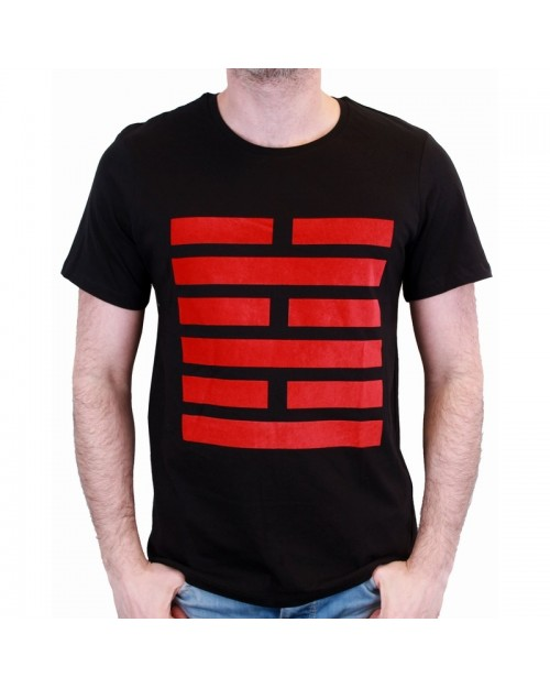 OFFICIAL G.I. JOE SNAKE EYES LOGO BLACK T-SHIRT