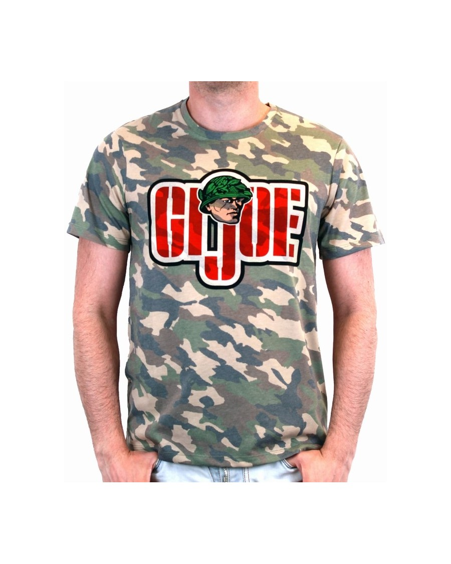 OFFICIAL G.I. JOE SYMBOL CAMOUFLAGE PRINT T-SHIRT