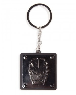 OFFICIAL CALL OF DUTY BLACK OPS 3 LOGO METAL KEYRING