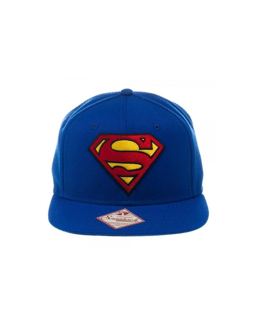 OFFICIAL DC COMICS SUPERMAN CLASSIC SYMBOL BLUE SNAPBACK CAP
