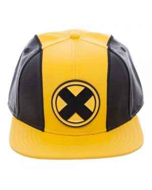 OFFICIAL MARVEL COMICS X-MEN SUIT UP COSTUME STYLED PU SNAPBACK CAP