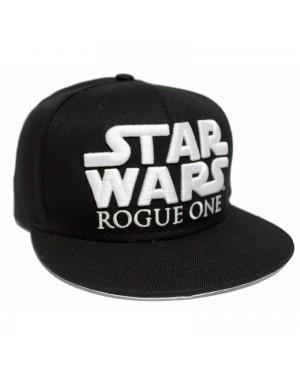 OFFICIAL ROGUE ONE A STAR WARS STORY SYMBOL/ LOGO BLACK SNAPBACK CAP