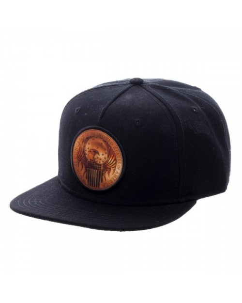 OFFICIAL FANTASTIC BEASTS AND WHERE TO FIND THEM - MACUSA SHIELD SYMBOL BLACK SNAPBACK CAP