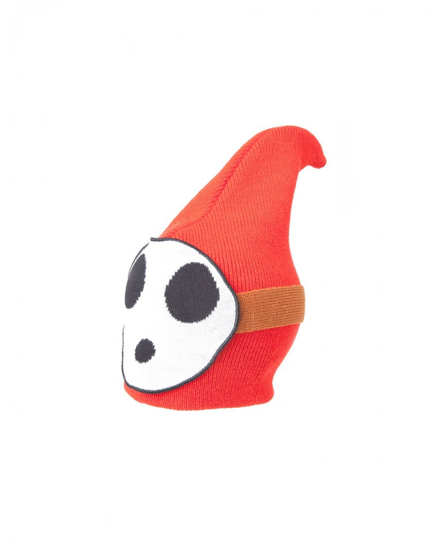 OFFICIAL NINTENDO'S SUPER MARIO BRO'S SHY GUY COSTUME BEANIE HAT