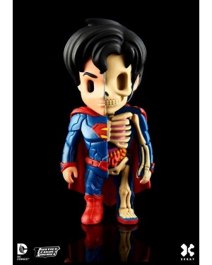 XXRAY x DC COMICS - SUPERMAN DISSECTED VINYL ART FIGURE (10cm)