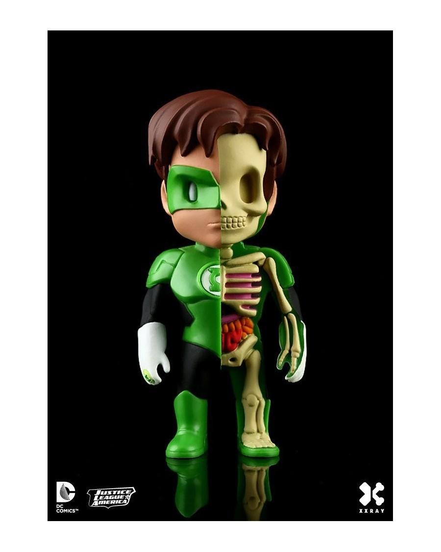XXRAY x DC COMICS - GREEN LANTERN DISSECTED VINYL ART FIGURE (10cm)