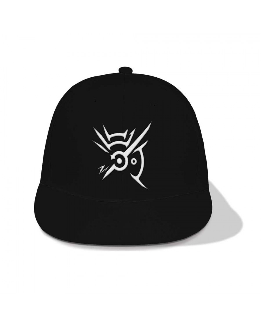 OFFICIAL DISHONORED 2 - MARK OF THE OUTSIDER SYMBOL BLACK SNAPBACK CAP