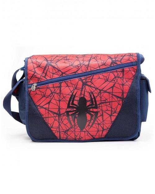 OFFICIAL MARVEL COMICS - THE ULTIMATE SPIDER-MAN SYMBOL MESSENGER BAG