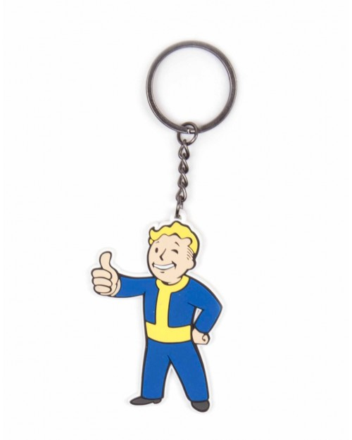 FALLOUT 4 - VAULT BOY APPROVES RUBBER KEYRING