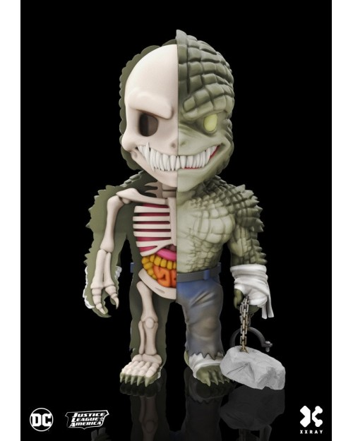 XXRAY x DC COMICS - KILLER CROC DISSECTED VINYL ART FIGURE (10cm)