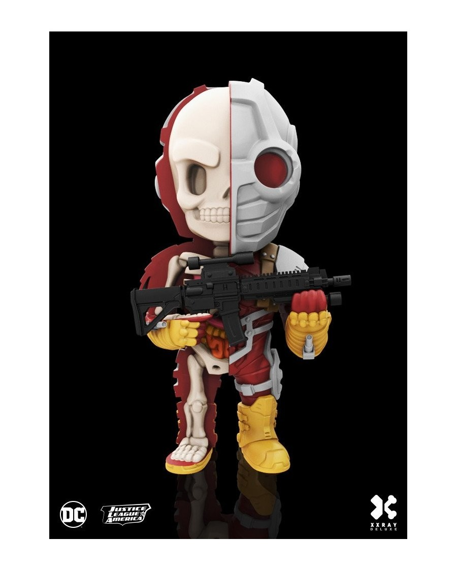 XXRAY x DC COMICS -  DEADSHOT DISSECTED VINYL ART FIGURE (10cm) *DELUXE*