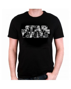 OFFICIAL STAR WARS - CHARACTERS SYMBOL BLACK T-SHIRT