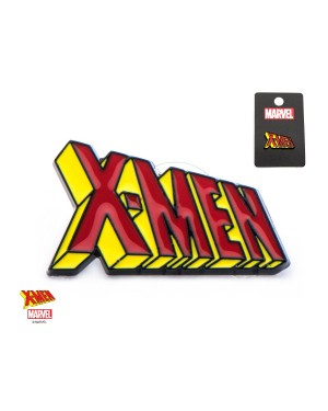 OFFICIAL MARVEL COMICS - X-MEN TEXT SYMBOL METAL ENAMEL PIN BADGE