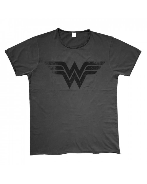 OFFICIAL DC COMICS - WONDER WOMAN SYMBOL VINTAGE STYLED T-SHIRT