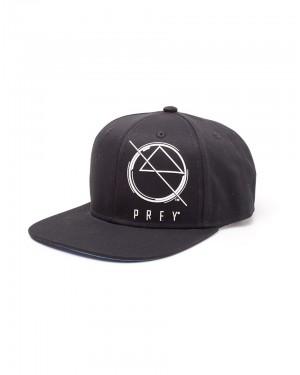 OFFICIAL PREY LOGO/ SYMBOL BLACK SNAPBACK CAP WITH PRINTED VISOR
