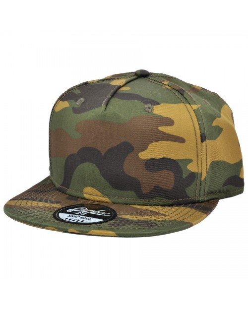CARBON 212 CAMOUFLAGE PRINTED SNAPBACK CAP