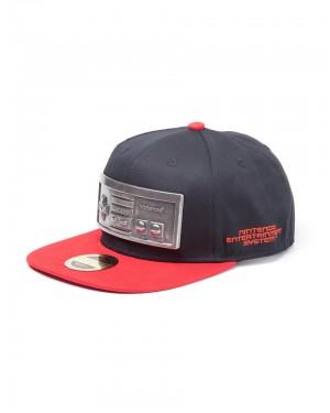 OFFICIAL NINTENDO'S NES CONTROLLER METAL BADGE BACK SNAPBACK CAP