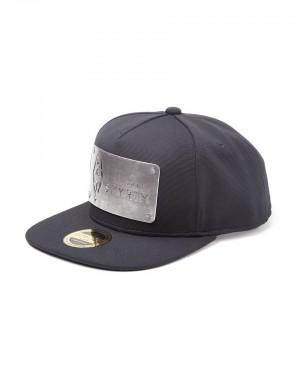 OFFICIAL THE ELDER SCROLLS V: SKYRIM - DRAGONBORN SYMBOL METAL PLATE BLACK SNAPBACK CAP
