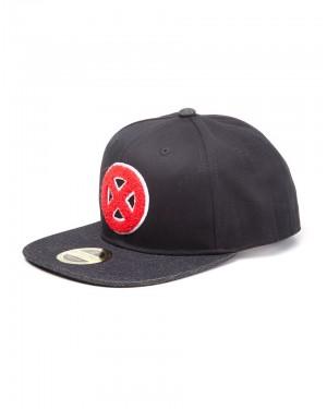 OFFICIAL MARVEL COMICS - X-MEN RED SYMBOL BLACK SNAPBACK CAP