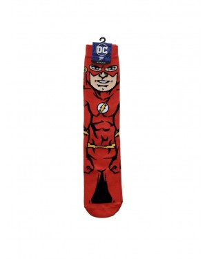 OFFICIAL DC COMICS THE FLASH ALL OVER CREW SOCKS