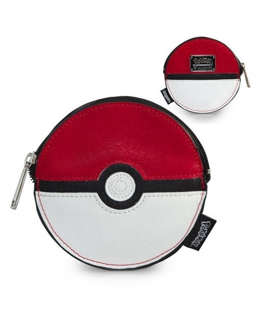 OFFICIAL NINTENDO - POKEMON POKEBALL 3D STYLED COIN PURSE