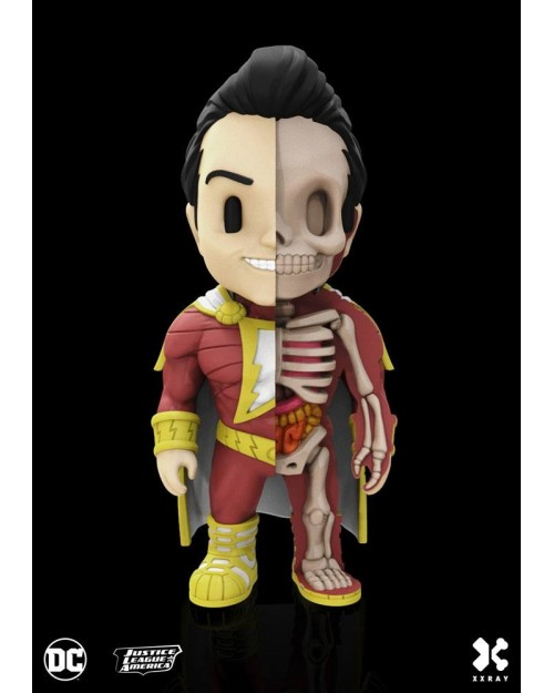 XXRAY x DC COMICS - SHAZAM DISSECTED VINYL ART FIGURE (10cm)