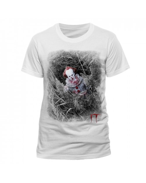 OFFICIAL IT - PENNYWISE HIDDEN WHITE T-SHIRT
