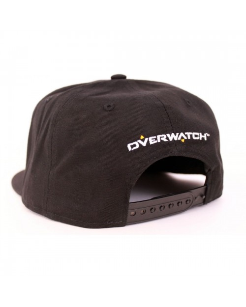 OFFICIAL OVERWATCH SYMBOL BLACK SNAPBACK CAP