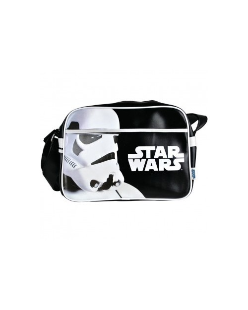 STAR WARS STORMTROOPER CLOSE UP MESSENGER BAG
