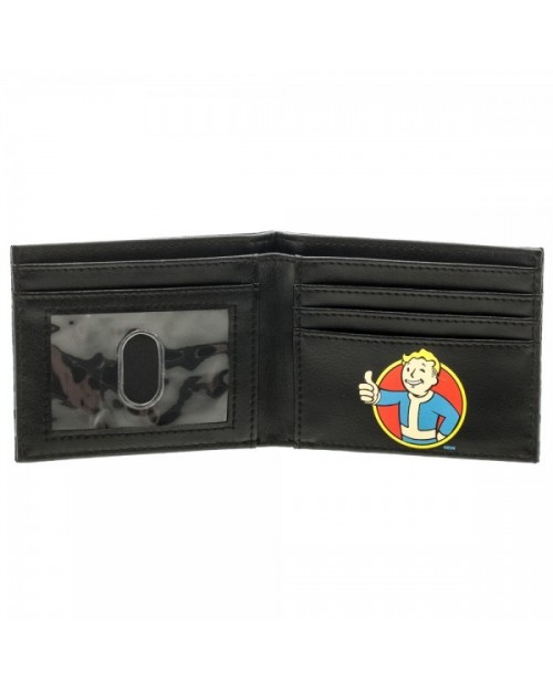 OFFICIAL FALLOUT 4 - NUKA COLA LOGO BLACK BI-FOLD WALLET