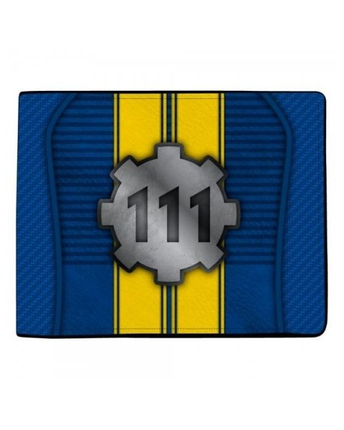 OFFICIAL FALLOUT 4 - VAULT 111 DOOR STYLED BI-FOLD WALLET