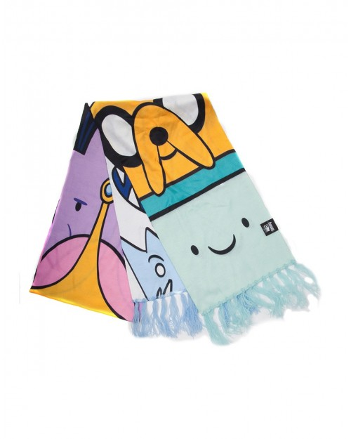 OFFICIAL ADVENTURE TIME - CHARACTERS THIN SUMMER SCARF