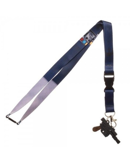 OFFICIAL STAR WARS - HAN SOLO COSTUME STYLED LANYARD