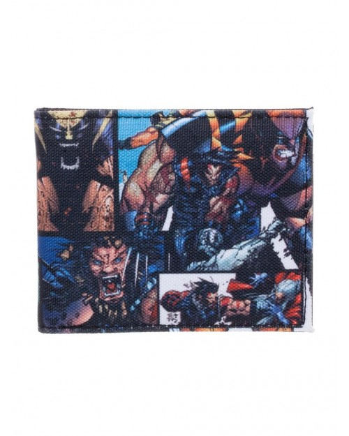 MARVEL COMICS - WOLVERINE COLLAGE ALL OVER PRINT CANVAS WALLET