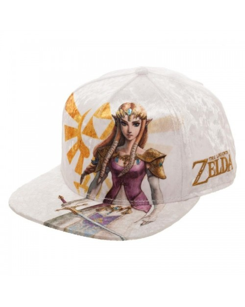 THE LEGEND OF ZELDA - TWILIGHT PRINCESS - ZELDA VELVET SNAPBACK CAP