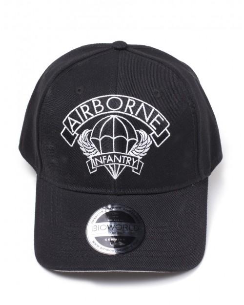 WOLFENSTEIN 2: THE NEW COLOSSUS - AIRBORNE INFANTRY BLACK BASEBALL SNAPBACK CAP