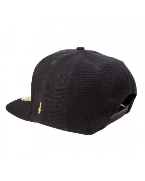 OFFICIAL STAR TREK TEXT LOGO BLACK SNAPBACK CAP