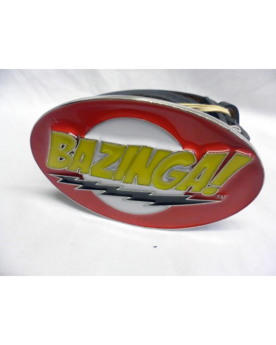 THE BIG BANG THEORY BAZINGA! SYMBOL BUCKLE with BELT