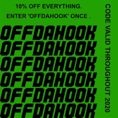 OFFDAHOOK - 10% OFFF